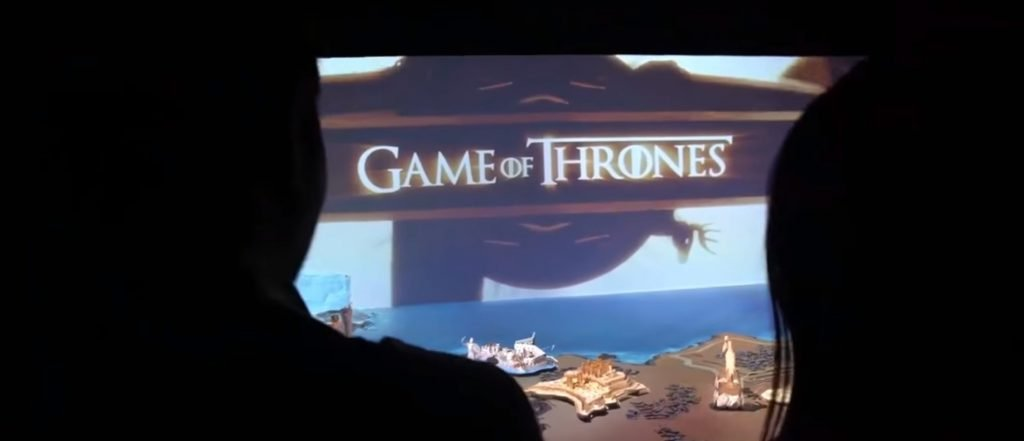 maquete Game of Thrones